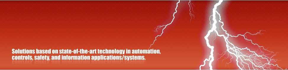 Solutions based on state-of-the-art technology in automation, - controls, safety, and information applications/systems.